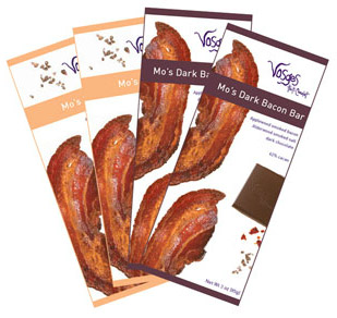 Vosges Milk and Dark Chocolate Bacon Bars